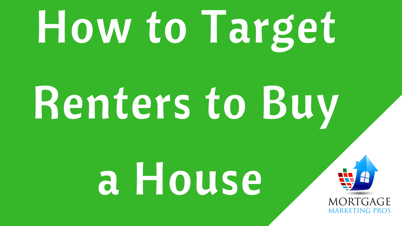 How loan officers can target renters to buy a house for How to finance building a new home