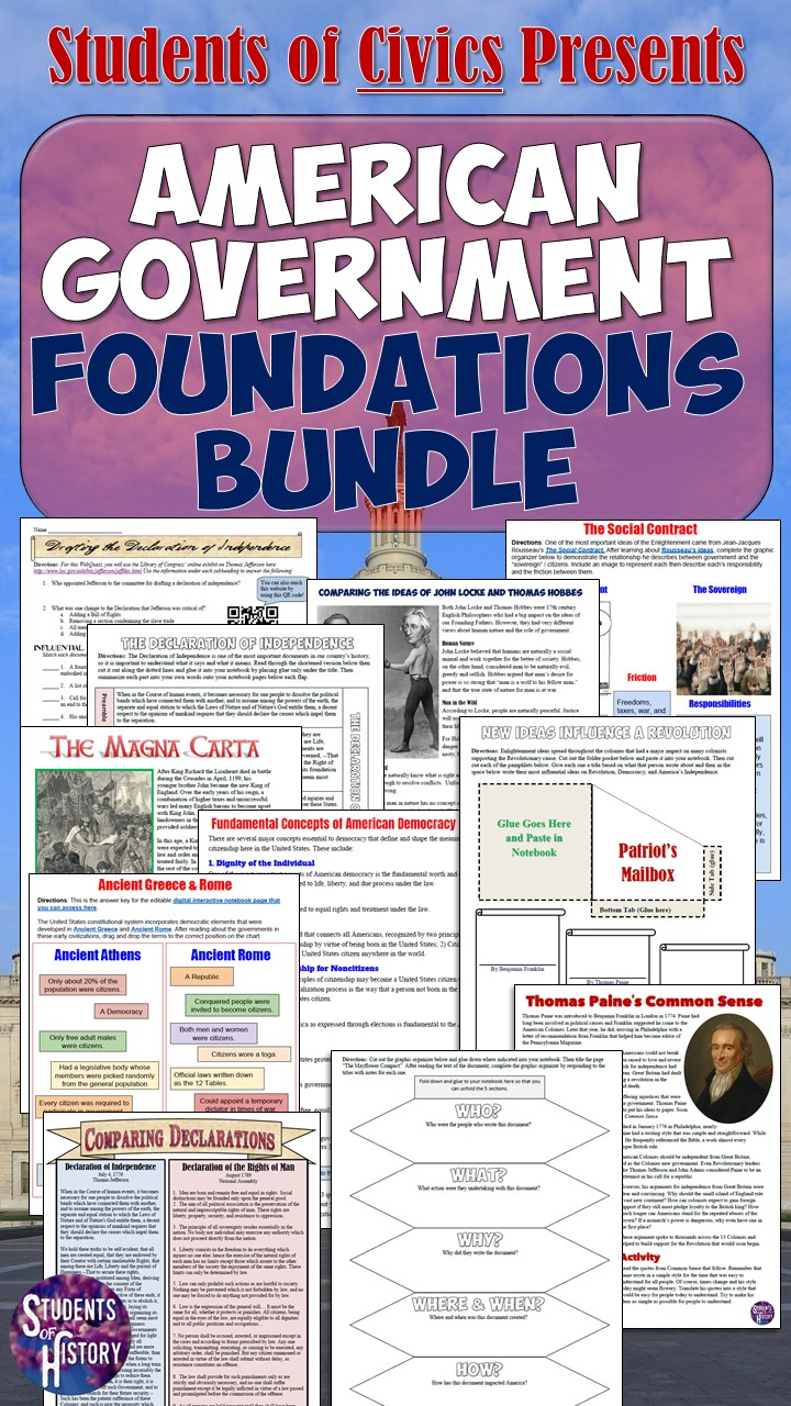 ... today and you'll get immediate access to ALL of these awesome resources  plus hundreds more for every other unit in Civics and American Government!