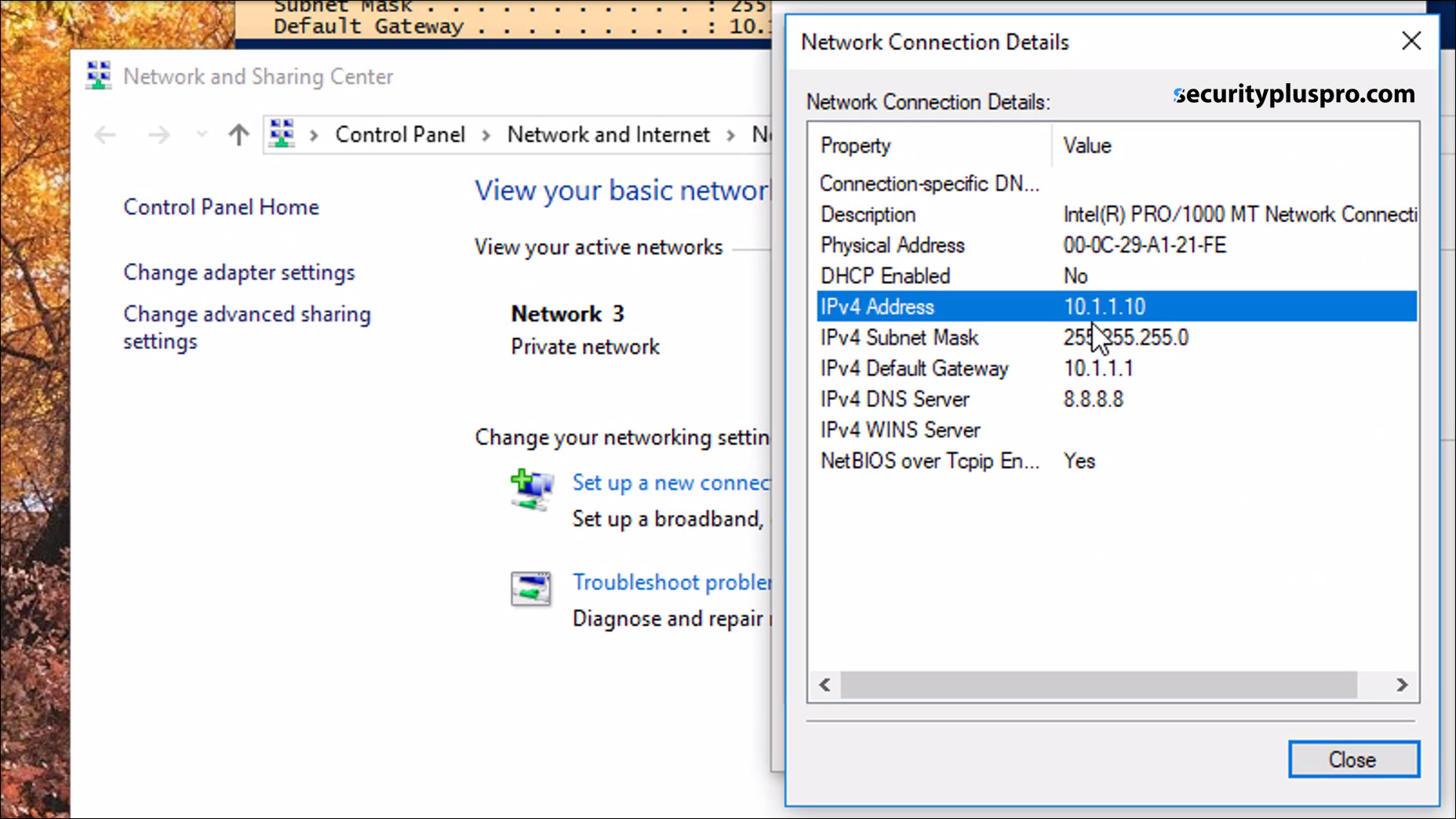 Security+ Training Online | Lab | Windows Command Prompt (1/2)