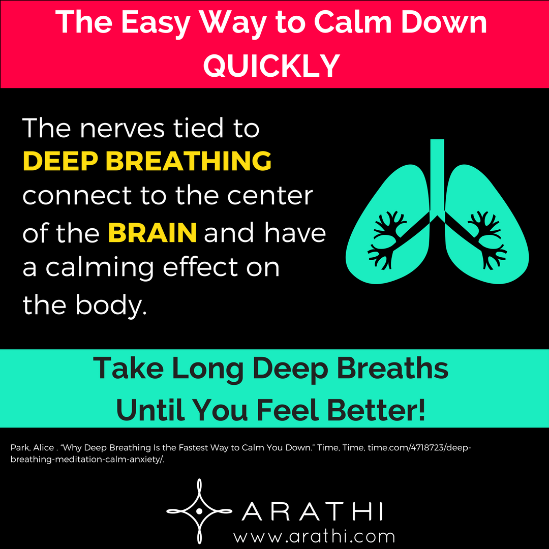 The easiest ways to calm down and not be nervous