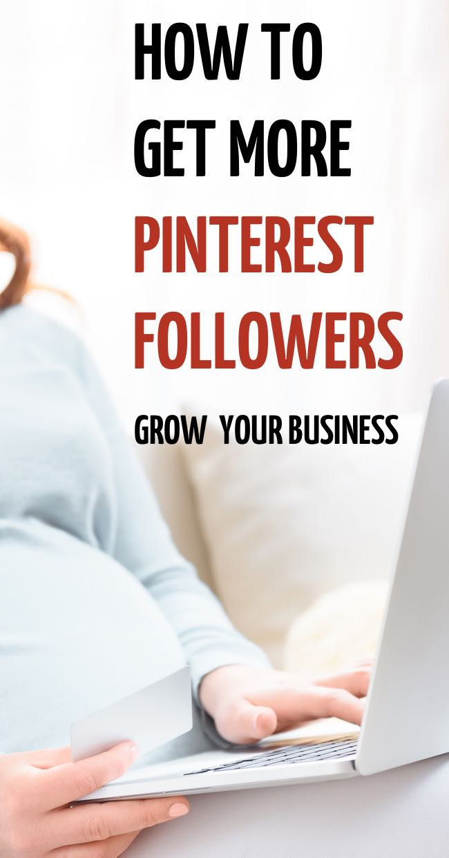 How to gain Pinterest followers without wasting your time so that you can build your on line business or blog. #blogging #business #entrepreneur #pinterest
