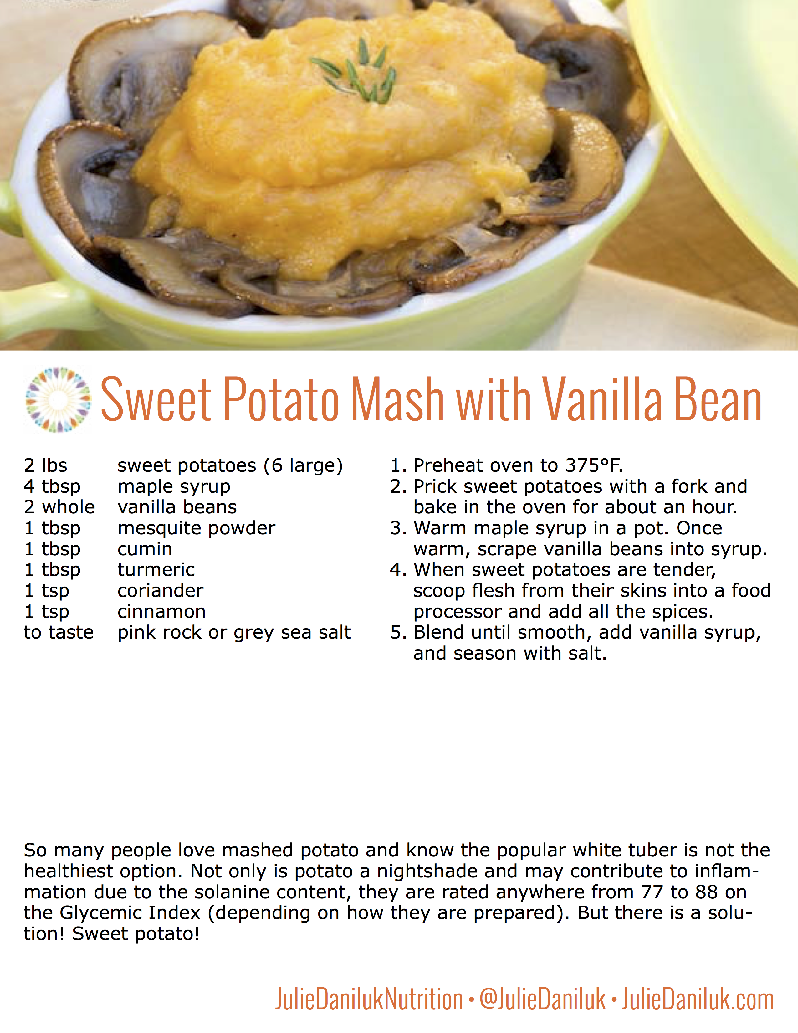 Sweet Potatoes | delicious & healthy swap for inflammatory potatoes