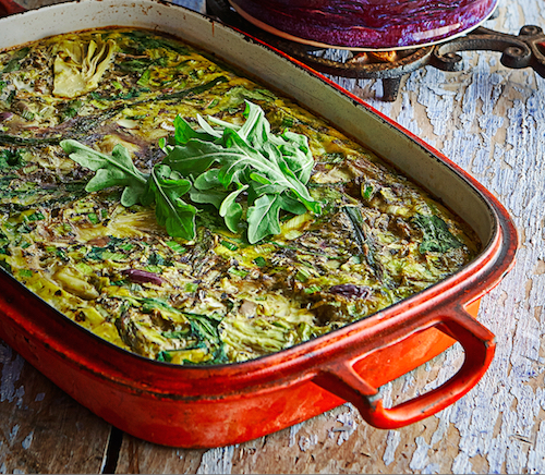Try My Hot Detox Frittata ~ JulieDaniluk.com