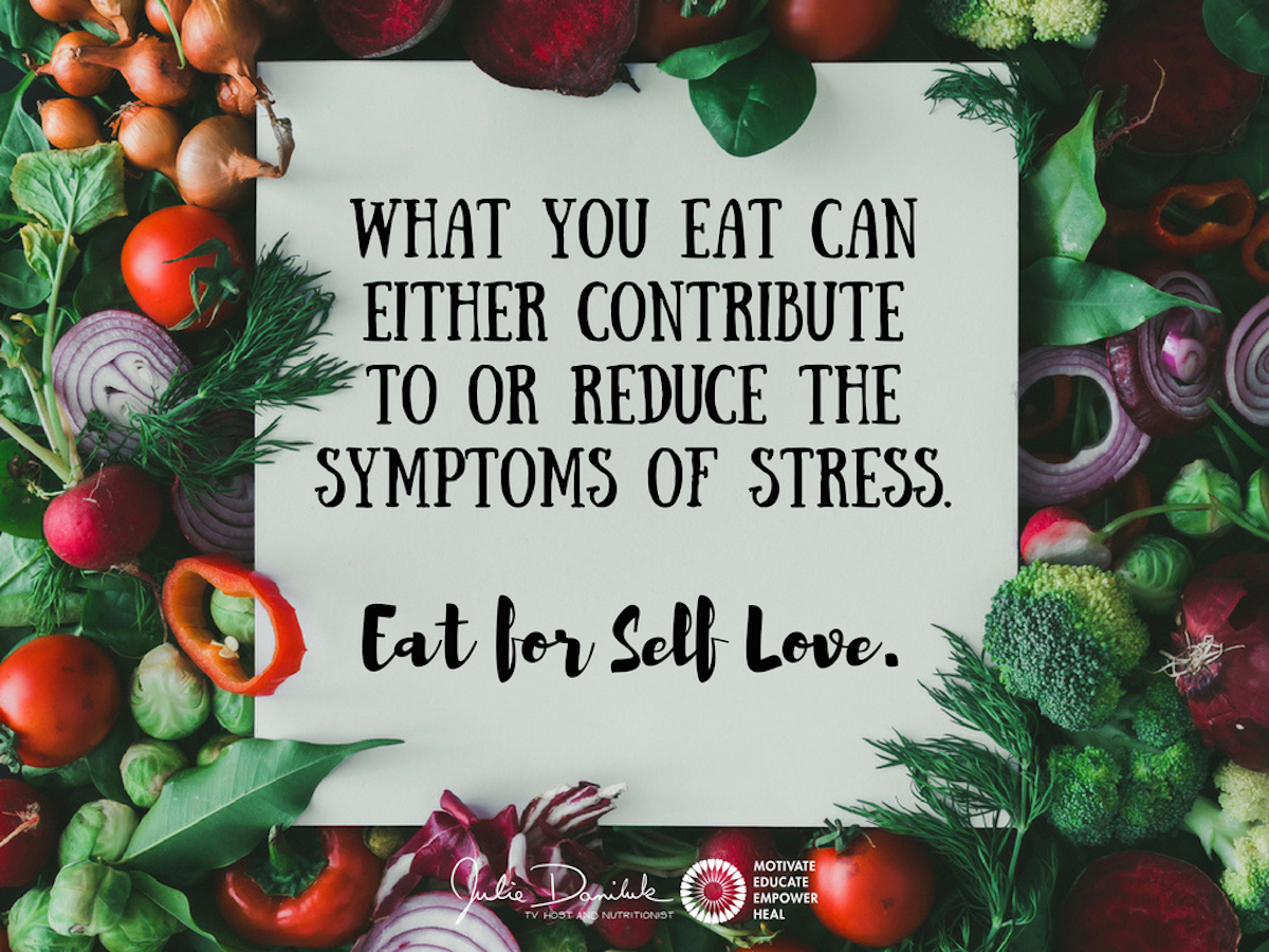 Julie Daniluk\'s Top 5 foods to cope with stress
