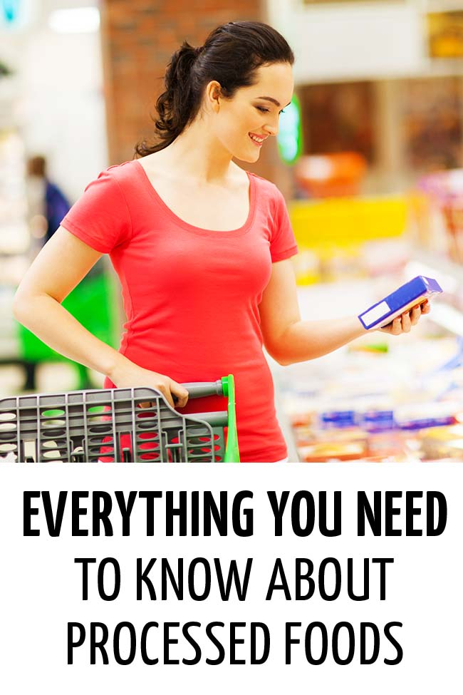 Woman reading the label carefully while grocery shopping #processedfood #packagedfood #readinglabels #understandinglables #healthyeating #healthymeals