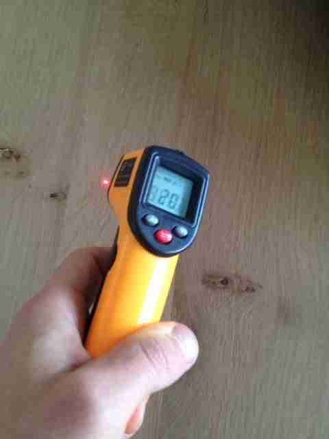 infrared thermometer for measuring temperature
