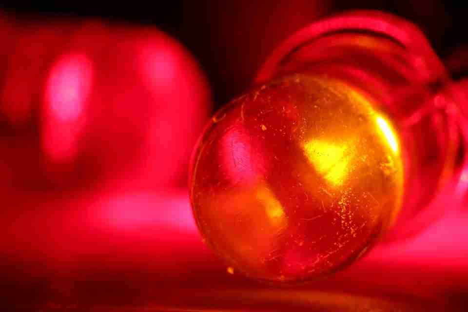 a LED bulb