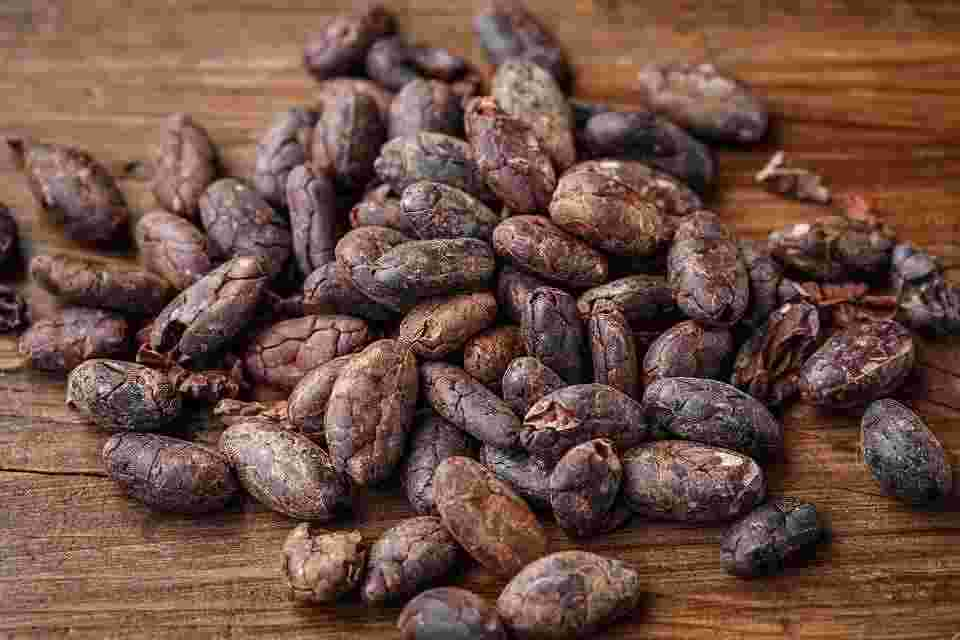 cacao beans which are naturally non-addictive