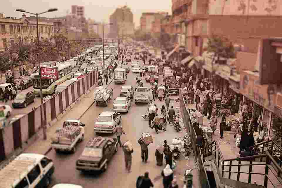 cairo as the example of a noise polluted city