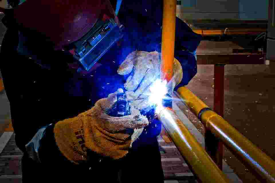 metalworker who might be exposed to heavy metals because of treating them at high temperatuers