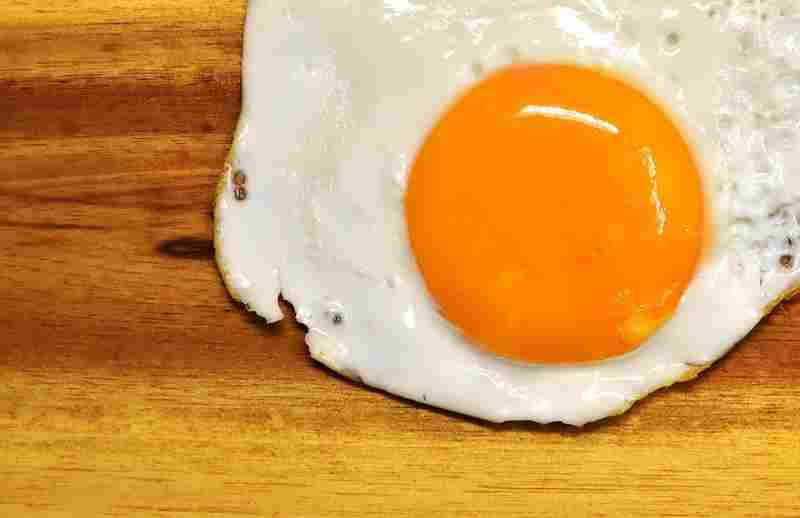 egg yolks which contain lots of choline