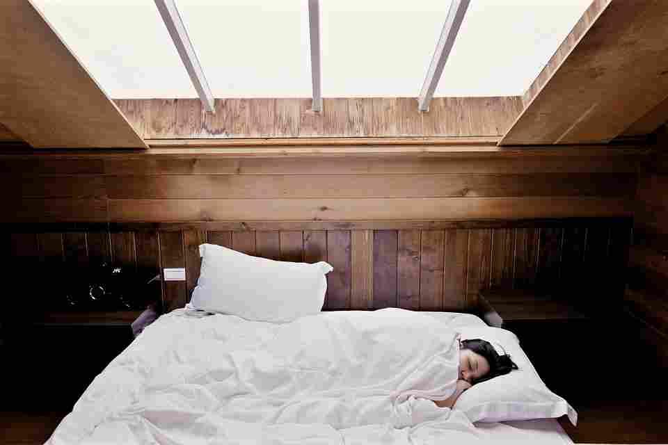 sunlight shining into a bedroom