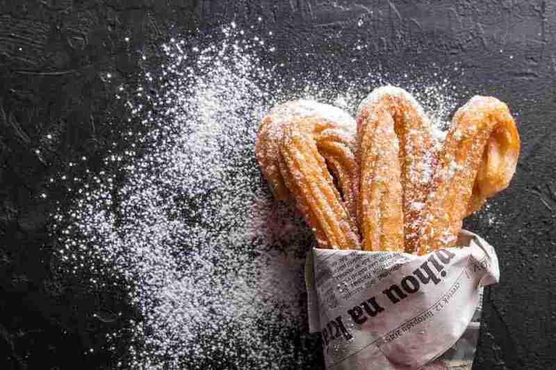 churros cookies as unhealthy food