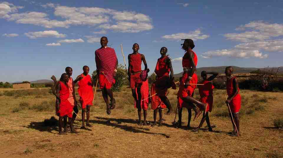 maasai in africa perfect health