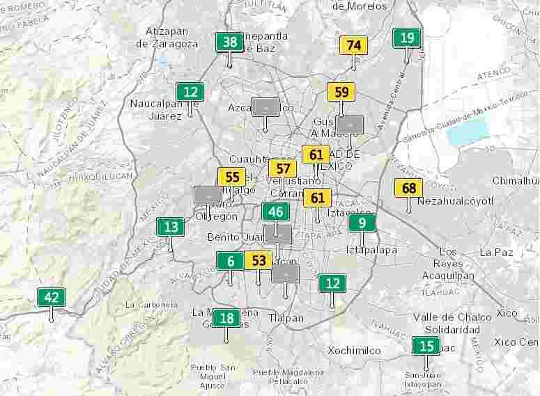 air quality index meter mexico city