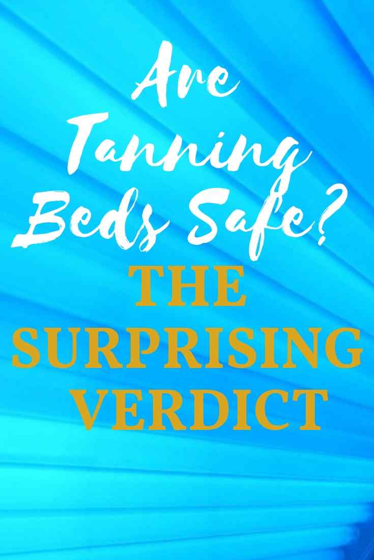 cover photo on answering the question of the safety of tanning beds
