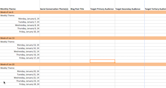 How To Create A 90 Day Content Calendar With Free Templates