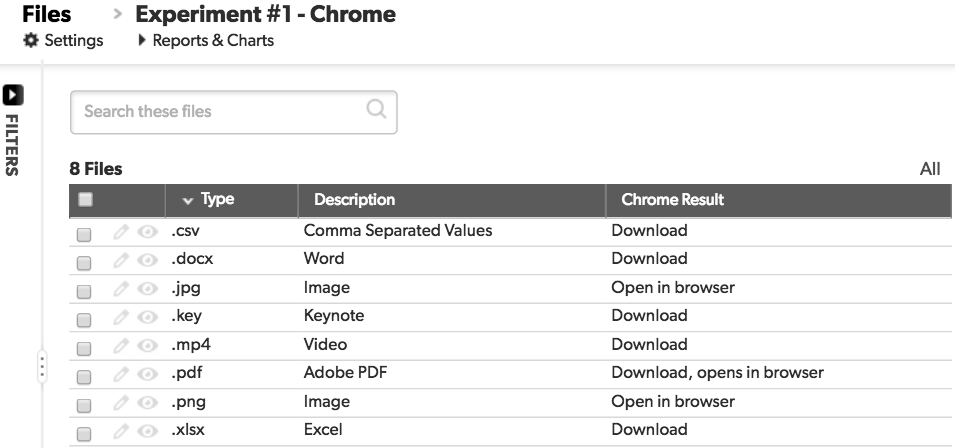 chrome download file types