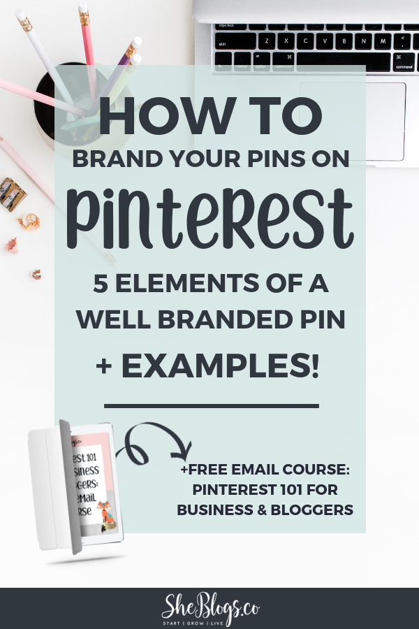 How To Brand Your Pins On Pinterest Examples