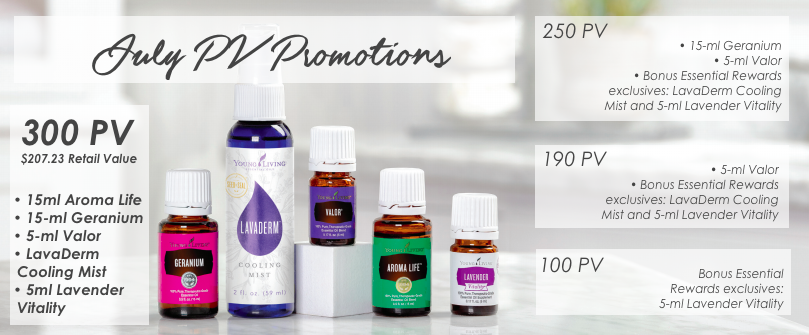 July with Oils of Joy and Young Living | Oils of Joy