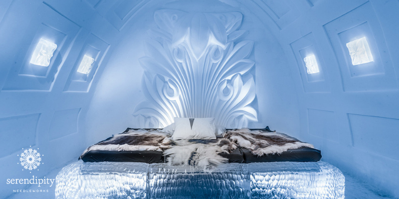 The Ice Hotel is a real-live place you can spend the night.