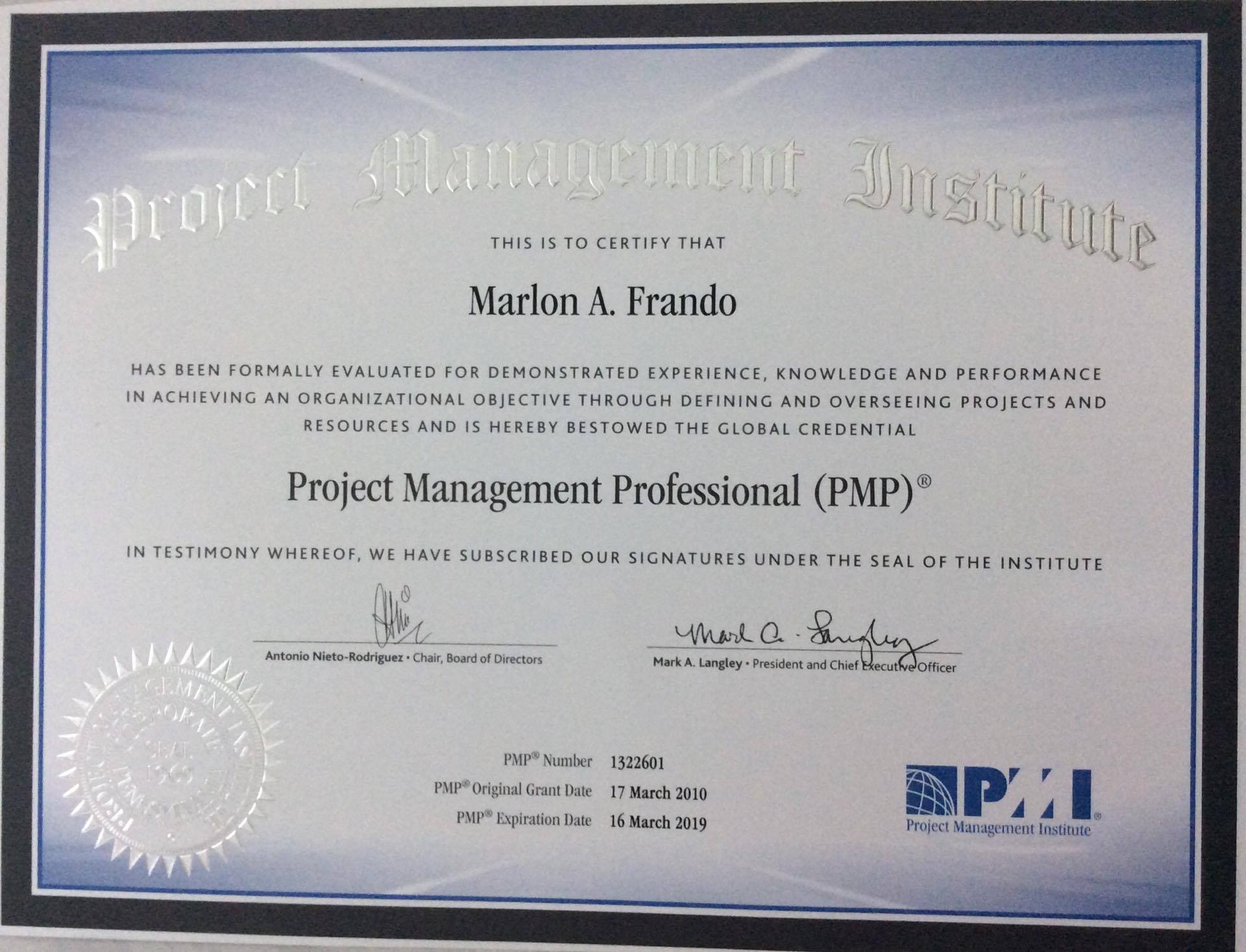Training Director Professional Certifications Indicating Expertise