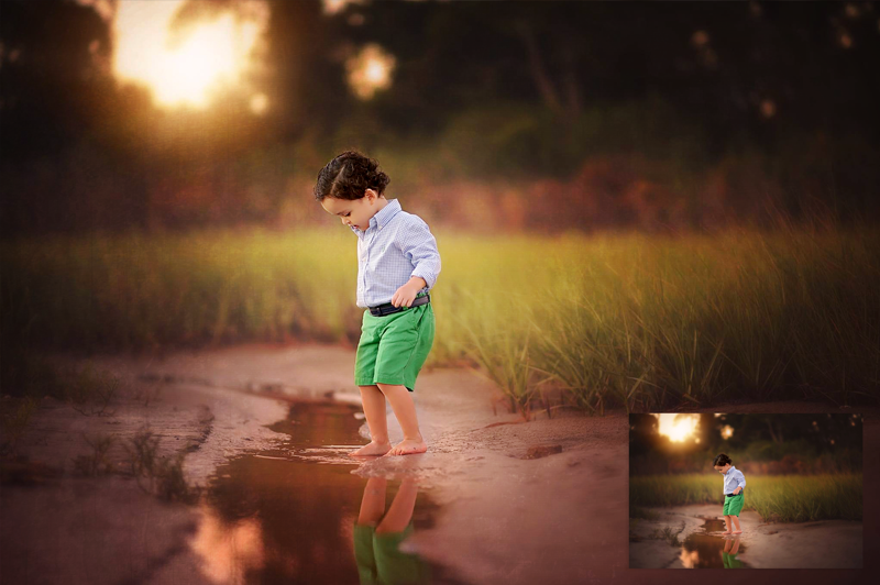 Set The Mood For Everything: Photoshop Texture Overlay And Action Collection