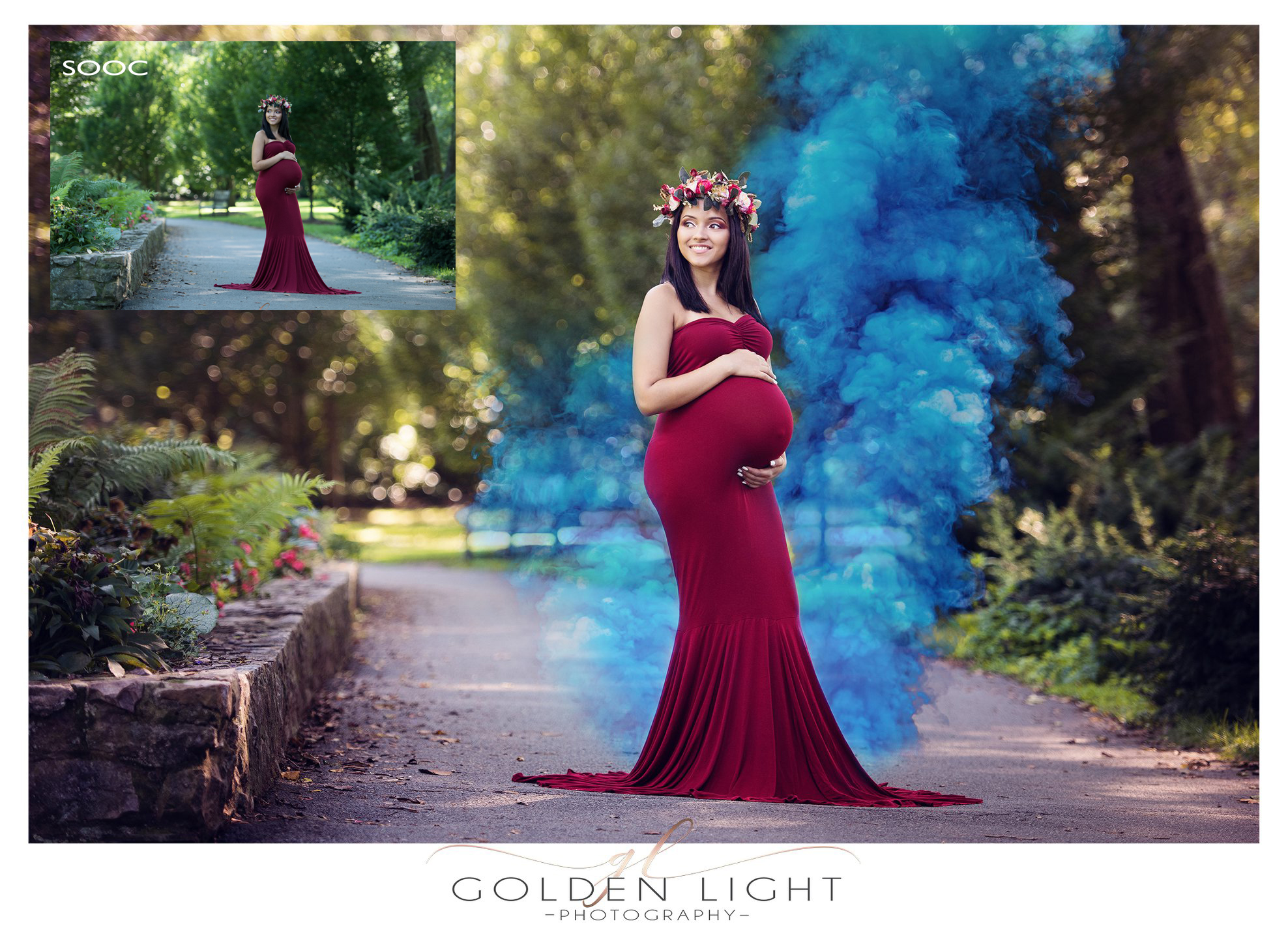 Colorscape - Smoke Bomb Overlay Collection