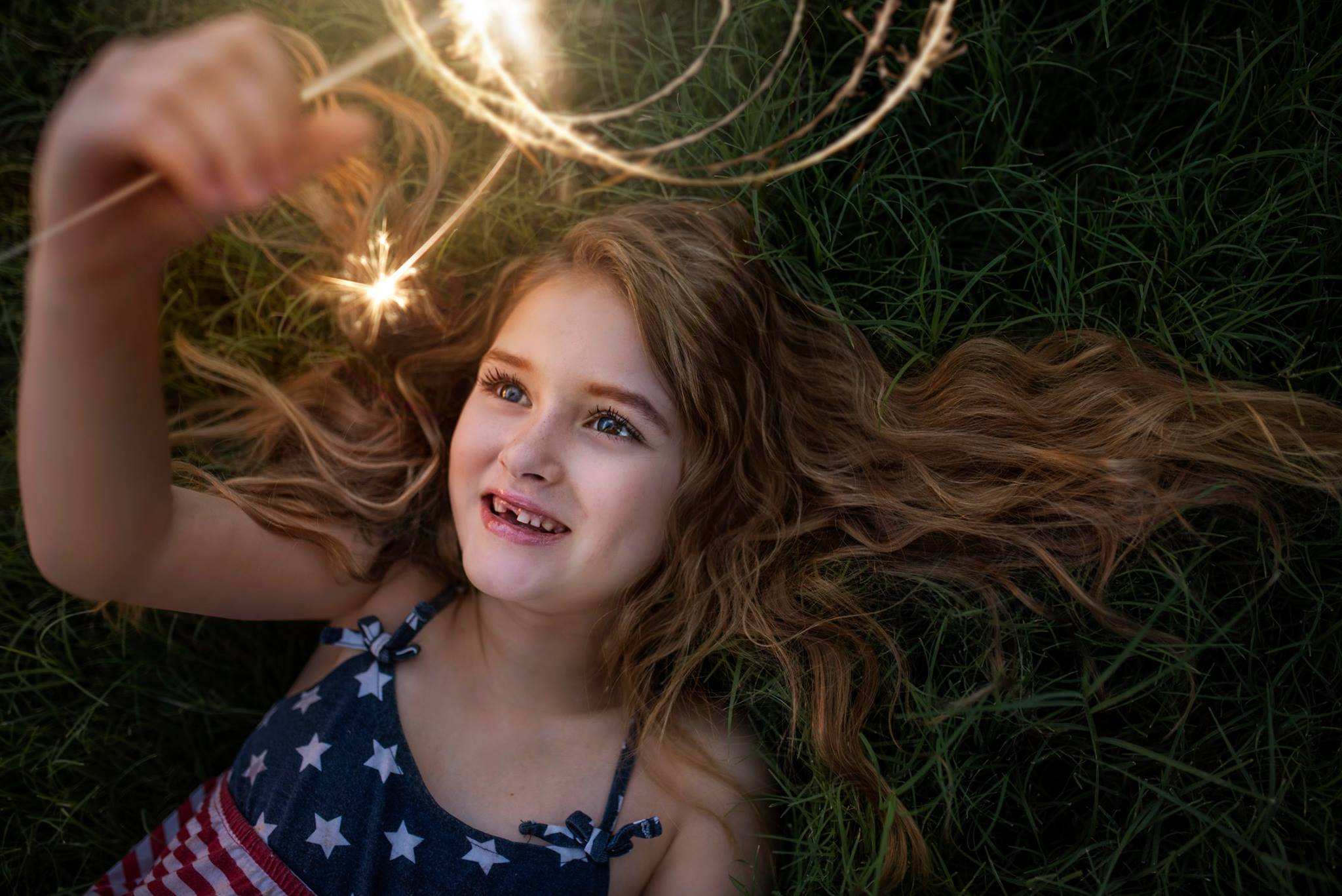 Sparkler & Shine - Photoshop Overlay and Photoshop Action