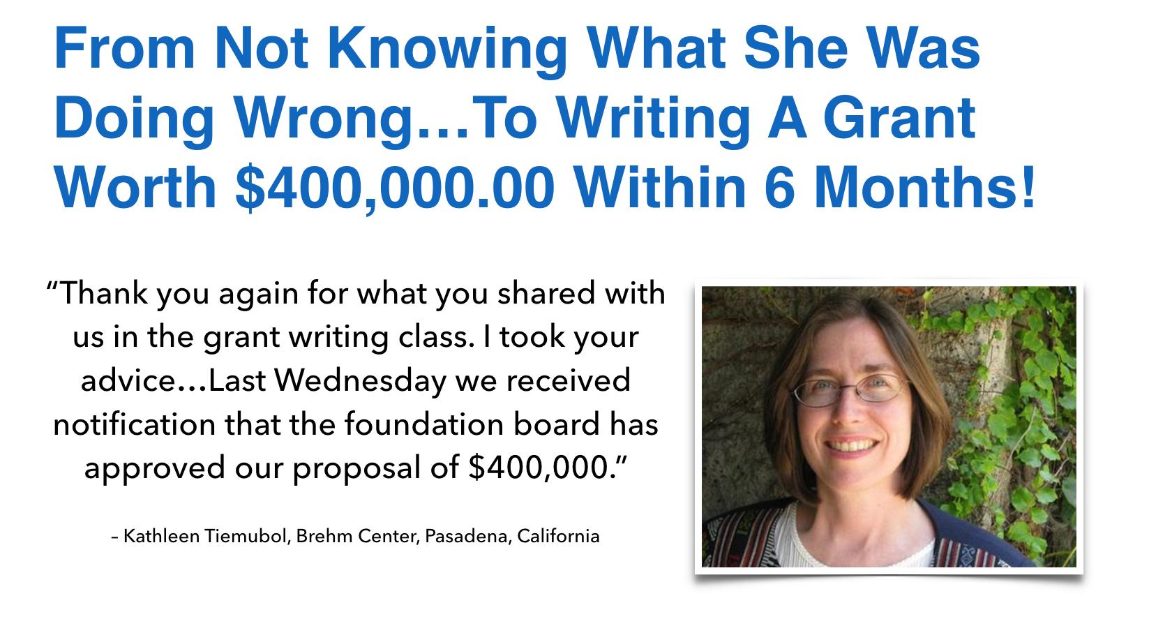 J9564TU3RmKUY0j2vLgS_Kathleen Tiemubol learn to write grants that get funded \