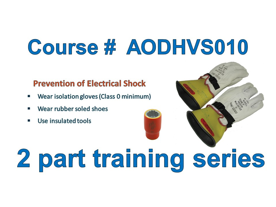 High Voltage Safety and Personal Protection Equipment (PPE) Training