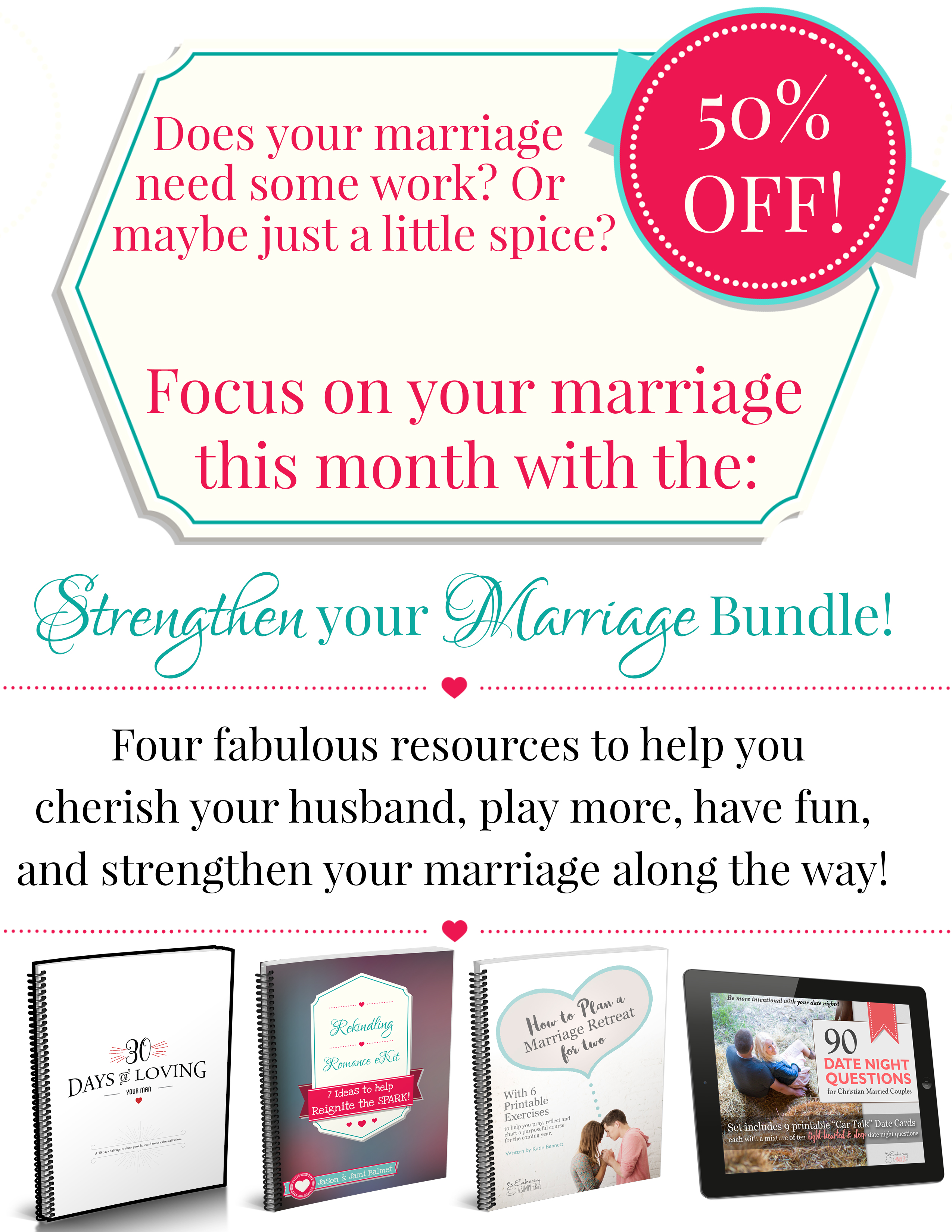 Strengthen Your Marriage Bundle