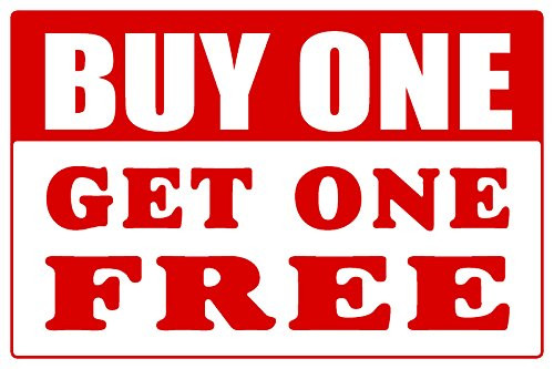 how to calculate buy one get one free