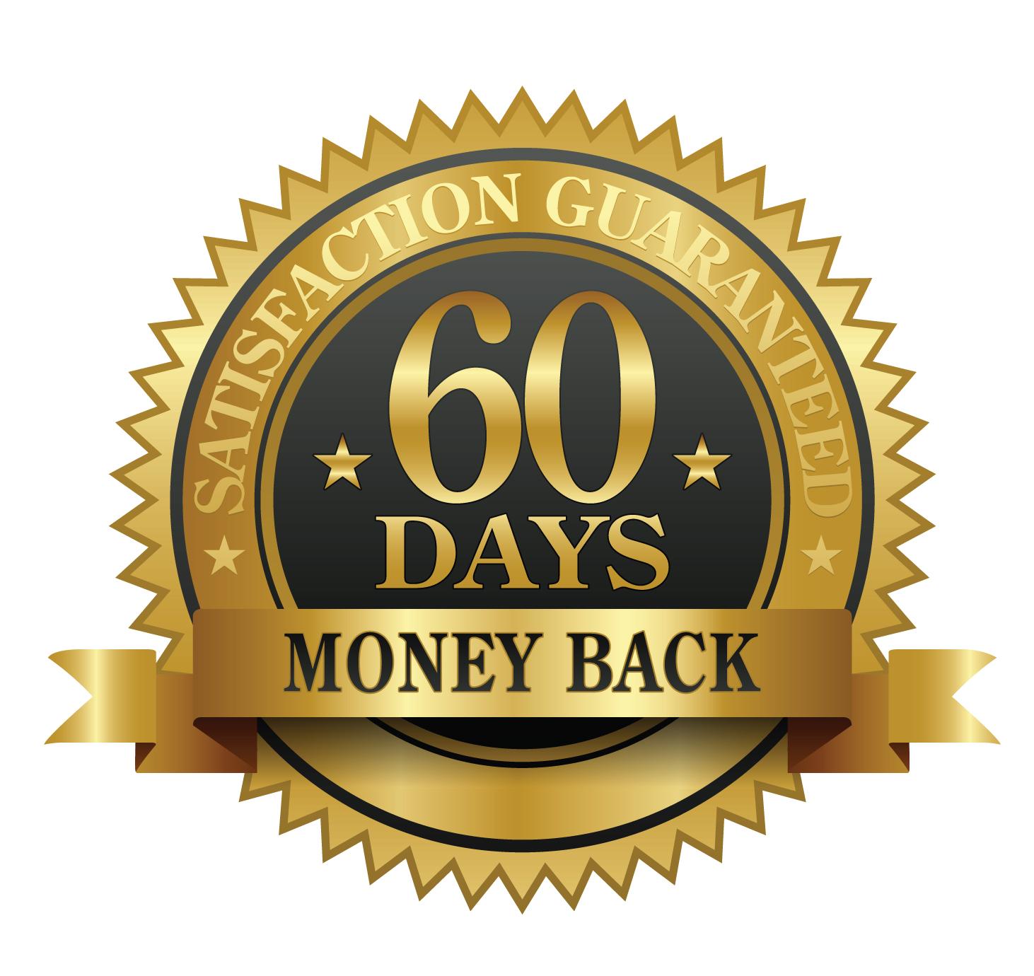 Risultati immagini per 60 days satisfaction