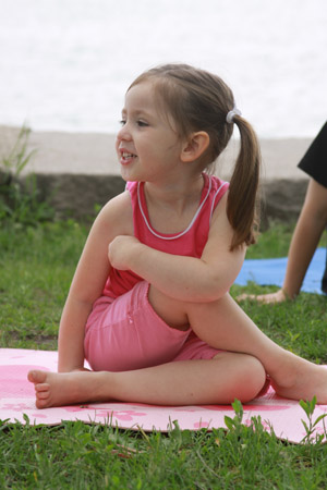 yoga class for toddlers