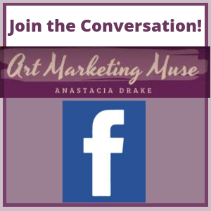 Join the coversation on the Art Marketing Muse Facebook page