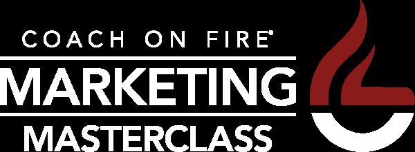 coach on fire marketing masterclass event
