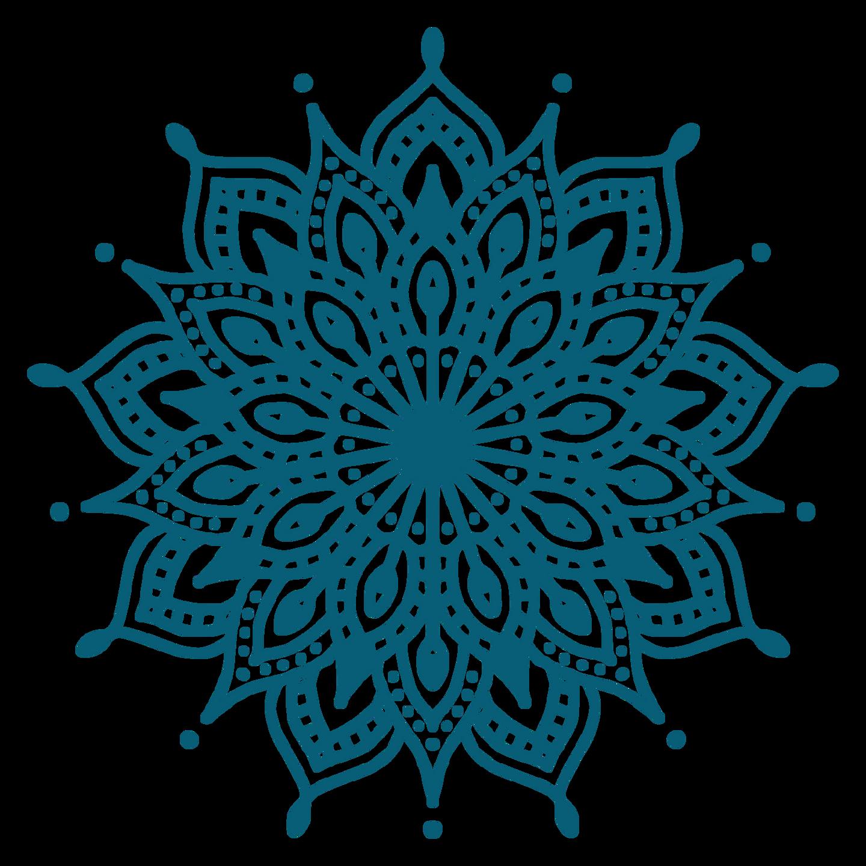Conscious Birth Community Mandala blue