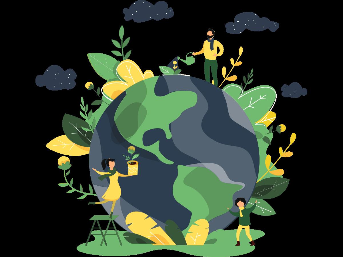 Freedum自由學院團隊信念-社會回饋-一點一滴永續美好的環境