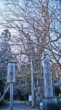 上日寺の入り口