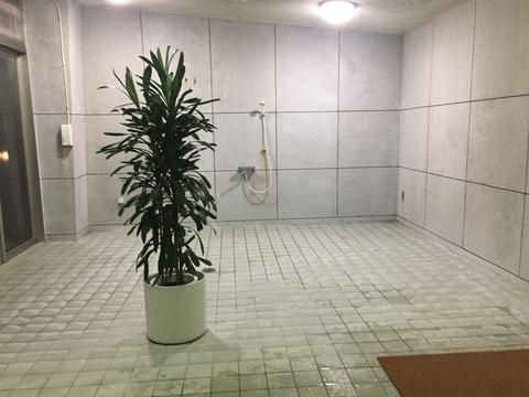 超巨大なシャワールームでVIP気分