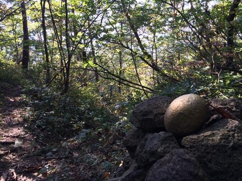 不思議な金色の石