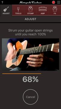 開放弦でジャカジャカ弾いて100%まで