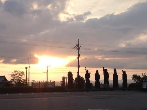 道の駅井波の七福神