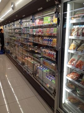Co2冷媒冷蔵コーナー