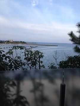 七尾湾が見渡せる