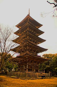 妙上寺五重塔
