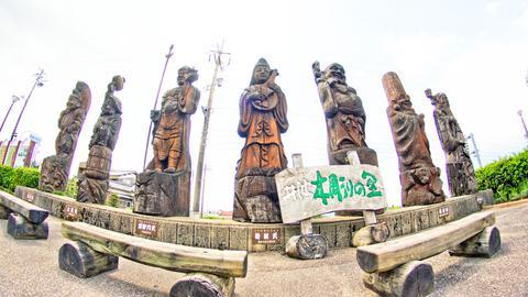 道の駅井波七福神