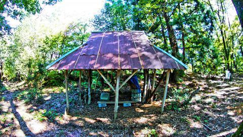 頂上の小屋