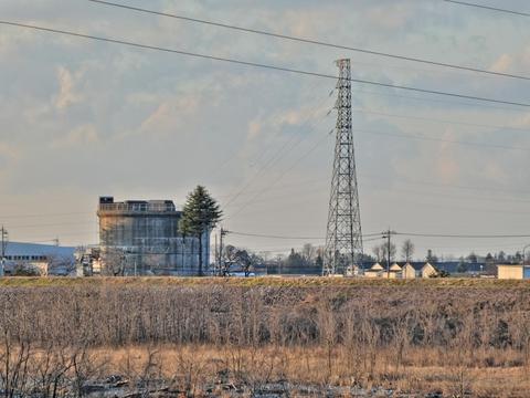 明島発電所と明島支線1番